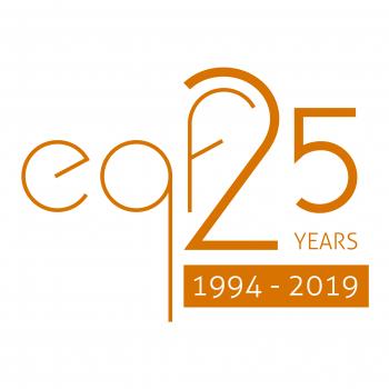 EQF LOGO - 25 years